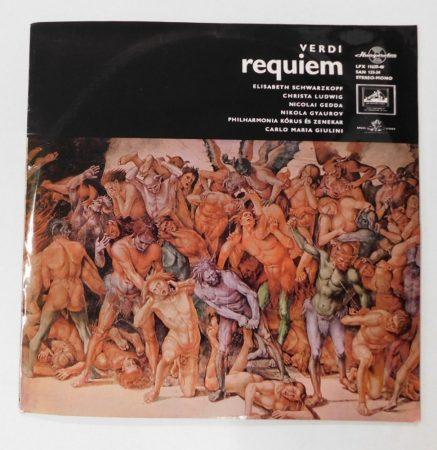 Verdi - Requiem LP (VG+/VG) HUN