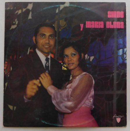 Sindo y Maria Elena - Conjunto Caney LP (EX/VG) CUBA