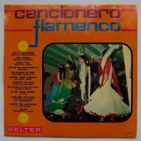 Cancionero Flamenco LP (VG+/VG+) SPA