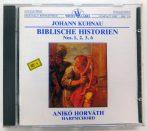 Johann Kuhnau, Horváth Anikó - Biblische Historien No.1, 2, 3, 6  CD (NM/NM) HUN 1989