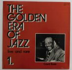 Count Basie - The Golden Era Of Jazz 1. - Live And Rare LP (EX/EX) HUN