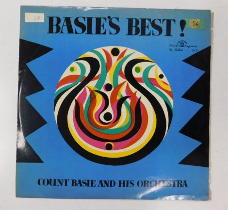 Count Basie And His Orchestra - Basie's Best LP (EX/VG) POL.