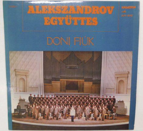 Alekszandrov Együttes - Doni Fiúk LP (EX/VG+)