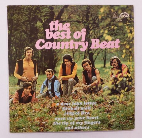 Jirí Brabec & His Country Beat - The Best Of Country Beat LP (NM/VG+) CZE.