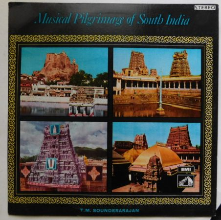 Musical Pilgrimage of South India LP (NM/VG) IND