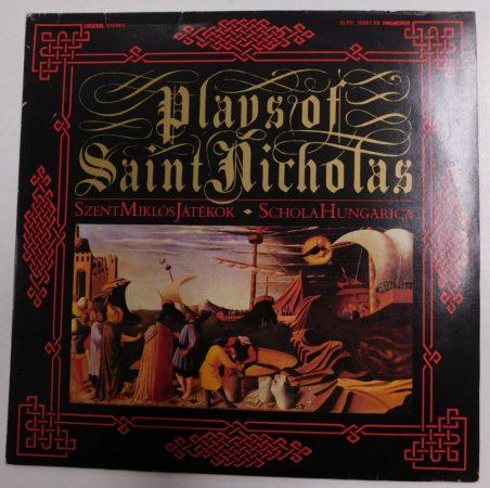 Plays of Saint Nicholas - Szent Miklós Játékok - Schola Hungarica 2LP (NM/NM) HUN