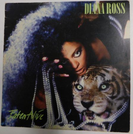 Diana Ross - Eaten Alive LP (VG+/VG) JUG