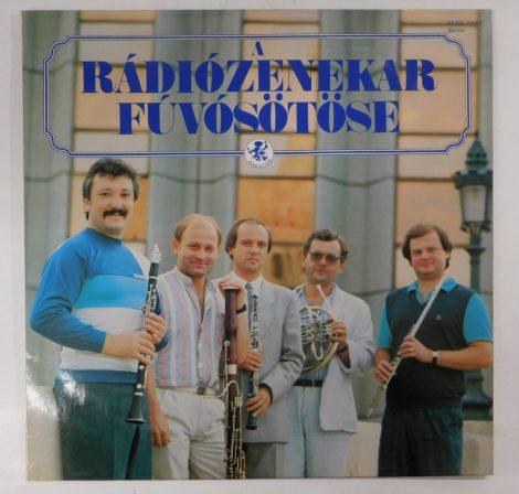 A Rádiózenekar Fúvósötöse LP (NM/EX) '88