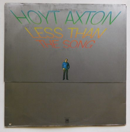 Hoyt Axton - Less Than The Song LP (VG+/VG) UK