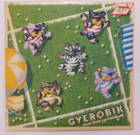 Gyerobik (Zenés Torna Gyerekeknek) LP (EX/VG+) +inzert