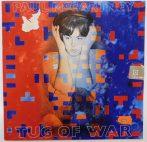 Paul McCartney: Tug of War LP (VG+/VG+) IND