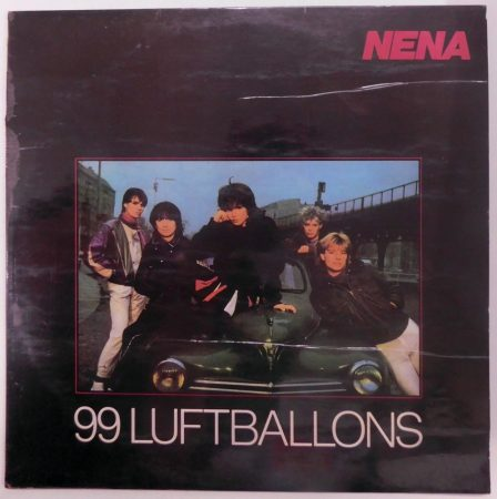 Nena - 99 Luftballons LP (VG+/VG) IND