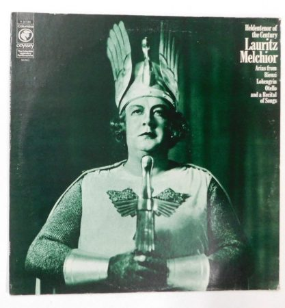 Lauritz Melchior - Heldentenor Of The Century LP (VG+/VG+)