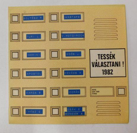 Tessék Választani! 1982 LP (VG+/VG+)