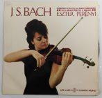 Eszter Perényi / Bach - Sonatas for violin unaccompanied LP (NM/VG+)