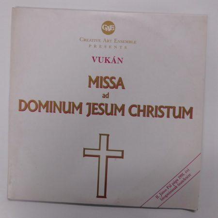 Vukán - Missa Ad Dominum Jesum Christum 2xLP (NM/VG+) HUN., 1991