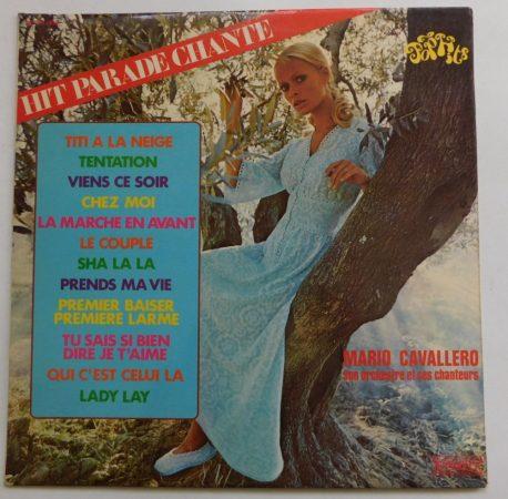 Hit Parade Chante - Mario Cavallero LP (VG+/VG+) FRA
