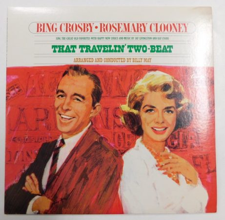 Bing Crosby - Rosemary Clooney: That Travelin Two-Beat LP (VG+/VG+) USA