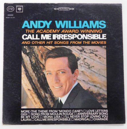 Andy Williams - Call me irresponsible LP (VG/VG) USA