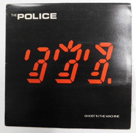 Police: Ghost in the Machine LP (Vg/G+) JUG