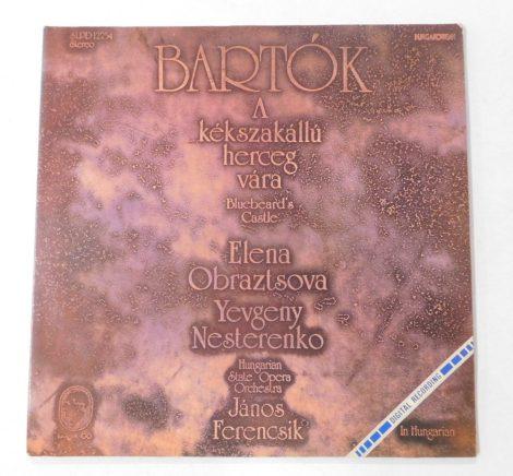 Béla Bartók - A kékszakállú herceg vára (Bluebeard's Castle) LP + inzert (NM/NM)