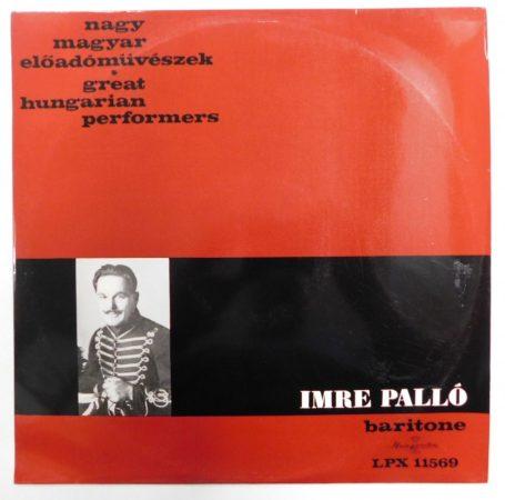 Palló Imre - Nagy magyar előadóművészek LP (EX/EX)