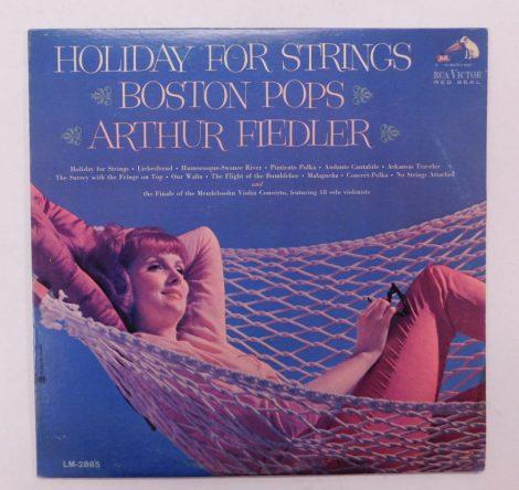 Boston Pops, Arthur Fiedler - Holiday For Strings LP (VG+/VG+) USA