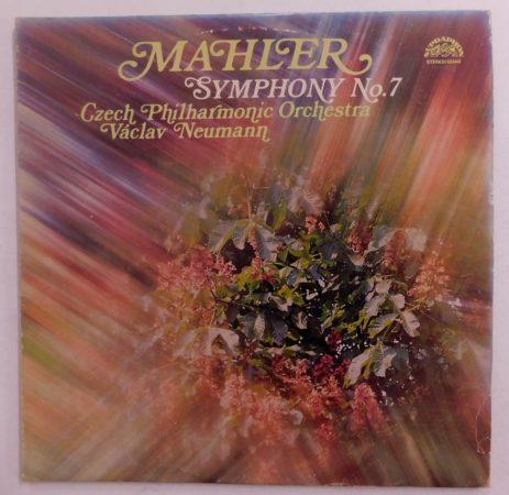 Mahler, Czech Philharmonic Orchestra, Václav Neumann - Symphony No. 7 2xLP (EX/VG) CZE