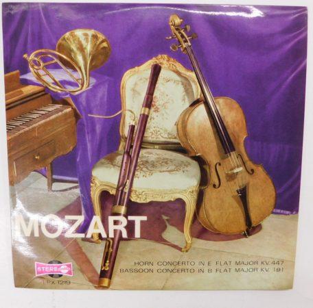 Mozart - Kürtverseny, Fagottverseny LP (VG+/VG+) HUN