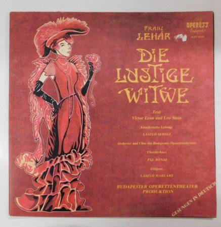 Franz Lehár - Die Lustige Witwe LP (EX/VG+)