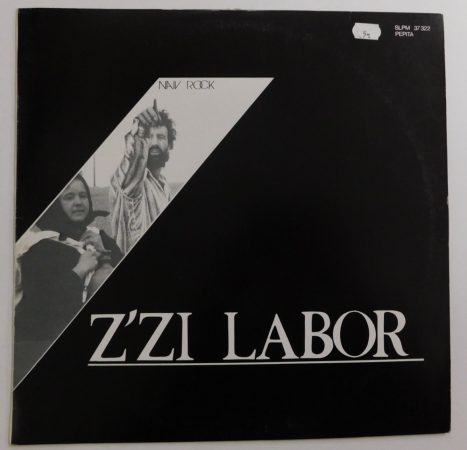 Z'Zi Labor - Naiv Rock LP (EX/VG) zizi