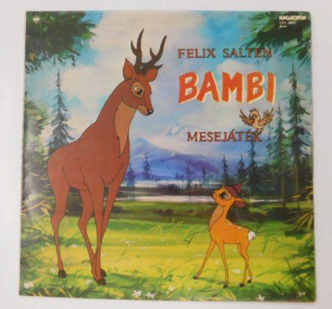 Felix Salten - Bambi (Mesejáték) LP (VG/G+)
