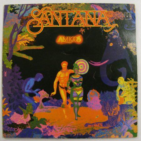 Santana - Amigos LP (VG+/VG+, gatefold) JUG