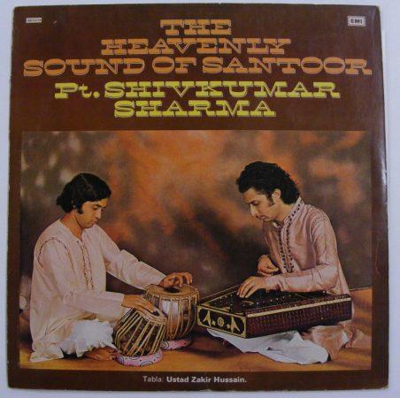Shivkumar Sharma: The Heavenly Sound of Santoor LP (VG+/VG+) IND