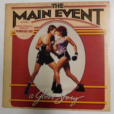 The Main Event - Original Motion Picture Soundtrack LP (VG+/VG) HOLL