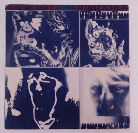 The Rolling Stones - Emotional Rescue LP (EX/VG) INDIA