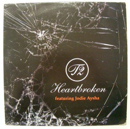 T2 feat. Jodie Aysha - Heartbroken (12inch, 2007, UK, VG+/VG) house, bassline, electro