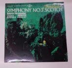 Mendelssohn - Symphony No. 3 Scotch LP (NM/EX) HUN.