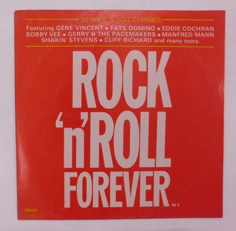 V/A - Rock 'N' Roll Forever - 20 Rock 'n' Roll Classics LP (EX/VG+) IND.