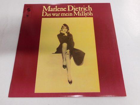 Marlene Dietrich - Das War Mein Milljöh LP (EX/VG+)