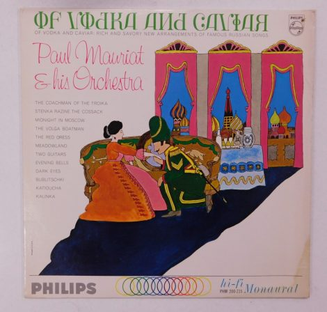 Paul Mauriat & His Orchestra - Of Vodka And Caviar LP (EX/VG) USA