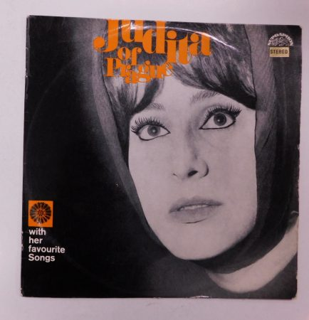 Judita Of Prague With Her Favourite Songs LP (VG+/VG) CZE. 1975