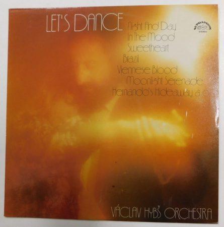 Vaclav Hybs Orchestra: Lets Dance LP (VG+/VG+) CZE