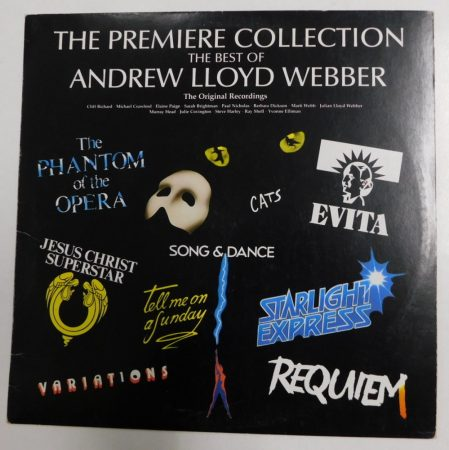 The Premier Collection - The Best Of Andrew Lloyd Webber LP (VG/VG) HUN