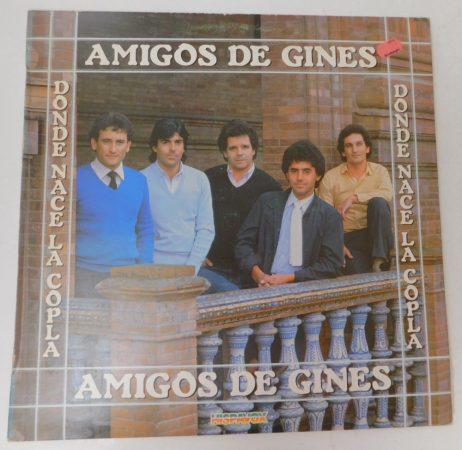 Amigos de Gines - Donde Nace la Copla LP (VG+/VG+) SPA