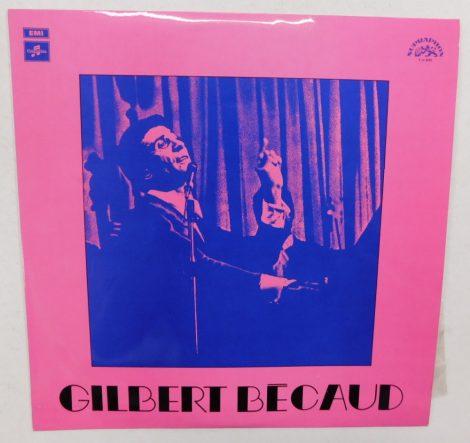 Gilbert Bécaud LP (NM/EX) CZE.