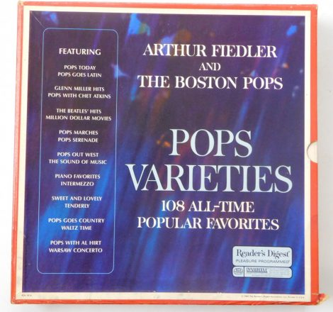 Arthur Fiedler And The Boston Pops - Pops Varieties 9xLP (EX/VG) USA.