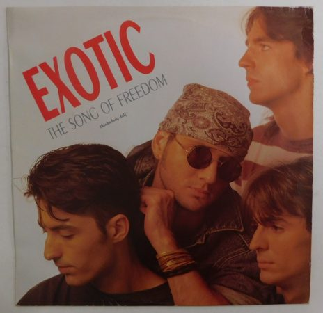 Exotic - The Song Of Freedom (Szabadság-dal) LP (VG/VG)