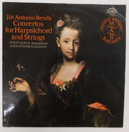 Benda - Concertos for Harpsichord and strings LP (NM/VG) CZE