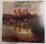 Goldmark - Mendelssohn - Violin Concertos - Kocsis Albert LP (VG+/EX) HUN